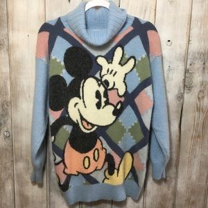 Erny Walt Disney Mickey Mouse Sweater Size Med